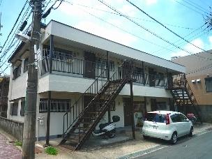 高槻市の賃貸アパート 中嶋住宅A棟の外観写真