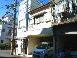 高槻市の賃貸アパート 大塚町貸家の外観写真