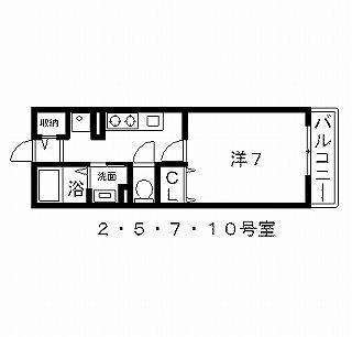 高槻市賃貸アパート ハイツ東大手 間取り図面.jpg