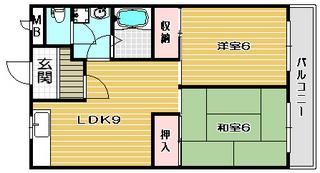 高槻市賃貸マンション STマンション 間取り.jpg