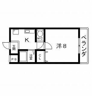 高槻市賃貸マンション さつきハイム 間取り図面.jpg