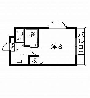 高槻市賃貸マンション はるか 間取り図面.jpg