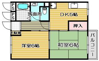 高槻市賃貸マンション アーバンハイツ三精 間取り図面.jpg