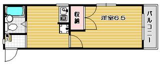 高槻市賃貸マンション アラスカハウス 間取り図.jpg