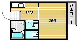 高槻市賃貸アパート カールハウス 間取.jpg
