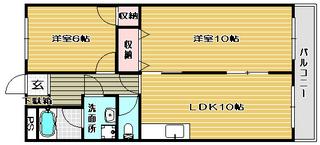 高槻市賃貸マンション グレース大冠 間取り.jpg