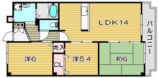 高槻市賃貸マンション ヴァーサ21 間取り図面.jpg
