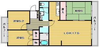 高槻市分譲賃貸マンション エメラルドマンション高槻 間取り図面.jpg