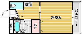 高槻市賃貸マンション クロシオハイツ�U 間取り.jpg