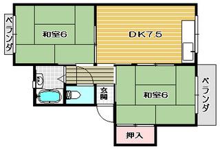 高槻市賃貸アパート サニーハイツ 間取り.jpg
