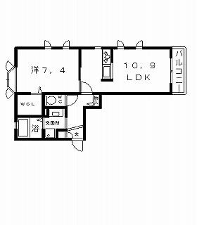 高槻市アパート シャーメゾン西野邸 間取り図面.jpg