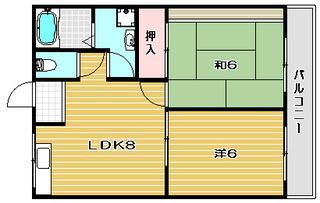 高槻市賃貸マンション シャインヨシダ|間取.jpg