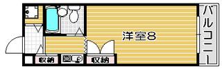 高槻市賃貸マンション ジョイフル高槻大畑 間取り図.jpg
