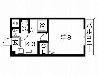 高槻市賃貸マンション ピュア大畑 間取り図面.jpg