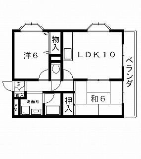 高槻市賃貸マンション フォーマルハウト 間取り図面.jpg