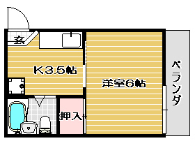 高槻市賃貸アパート フラットK 間取り図面.jpg