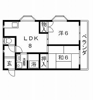 高槻市マンション プルミエール高槻 間取り図面.jpg