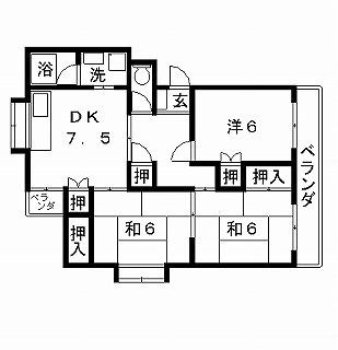 高槻市賃貸マンション ボナールハイツ 間取り図面.jpg