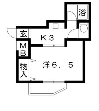 高槻市賃貸マンション ポエジーハイム 間取り図面.jpg