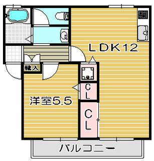 高槻市賃貸アパート メイプルコート|間取.jpg