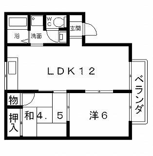 高槻市賃貸アパート メゾン大樋 間取り図面.jpg