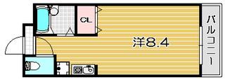 高槻市賃貸マンション ラシャンス・アネックス 間取り .jpg