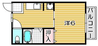 高槻市賃貸アパート リバティハウス 間取り.jpg