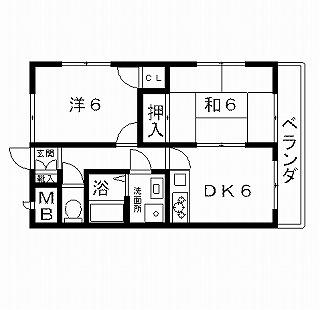 高槻市賃貸マンション ルミエール 間取り図面.jpg