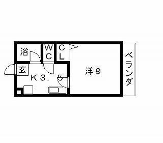 高槻市賃貸マンション ロンシャン 間取り図面.jpg
