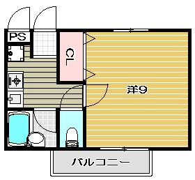 高槻市賃貸マンション ヴィラクラージュ 間取.jpg