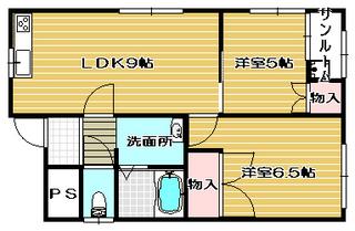 高槻市賃貸マンション ヴィラ明野 間取り図面.jpg
