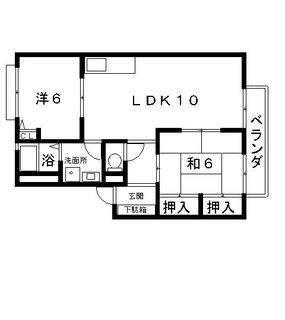 高槻 賃貸住宅 アパート ラビレット 間取.jpg