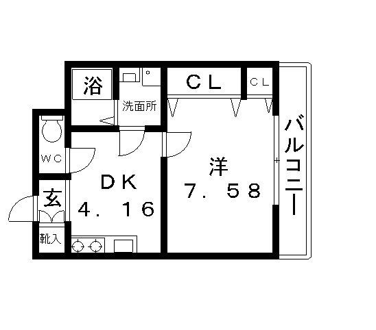 高槻市 賃貸 マンション エフティー上牧(5号室)NO2.jpg