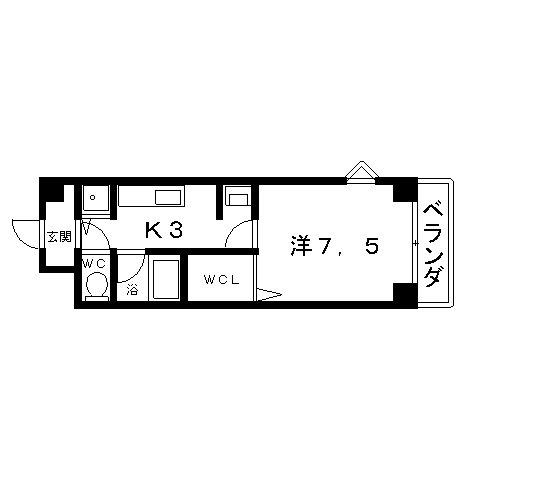 高槻市 賃貸 マンション ヴァンミレーユ 間取り.jpg