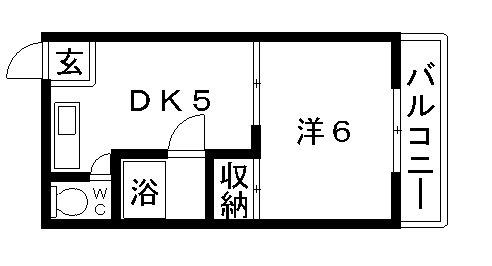 高槻市 賃貸 マンションオーエーマンション�Z 間取り.jpg