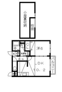高槻市賃貸アパート (仮称)宮田町1丁目アパート2階 間取り図面.jpg