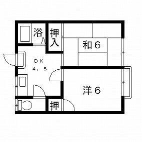 高槻市賃貸アパート 松村ハイツC棟 間取り図面.jpg