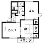 高槻市賃貸アパート・グランメール宮崎2DK間取.jpg