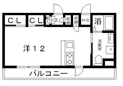 高槻市賃貸マンション・シャーメゾンミッド高槻NO2B.jpg