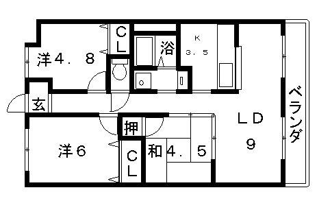 高槻市賃貸マンション・メゾンイーストサイドNO2.jpg