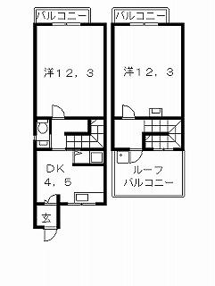 高槻市賃貸マンション 三精ビル 3号館 間取り図面.jpg