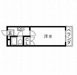 高槻市賃貸マンション 城南マンション 間取り図面.jpg