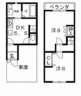 高槻市賃貸一戸建て 大塚町5丁目貸家 間取り図面.jpg
