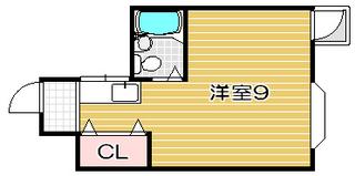 高槻市賃貸マンション 如是マンション 間取り図.jpg