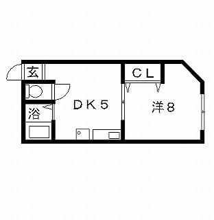高槻市アパート 並河マンション 間取り図面.jpg