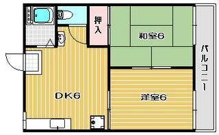 高槻市賃貸アパート エンジェルハイツC棟 間取り図面.jpg