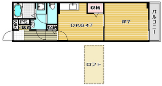高槻市賃貸アパート サンシャインニシダ 間取.jpg