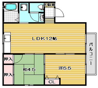 高槻市賃貸アパート ドミール城西|間取.jpg