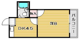 ハイツ88|3号室間取カラー.jpg