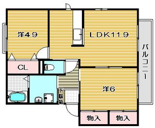 高槻市賃貸アパート プレステージ・メゾンA・B棟|間取.jpg